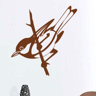 Samolepka na stěnu Pták 012 - 120x127 cm