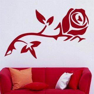 Samolepící dekorace Růže 008 - 134x80 cm