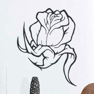 Samolepka na stěnu Kytka 002 - 120x157 cm
