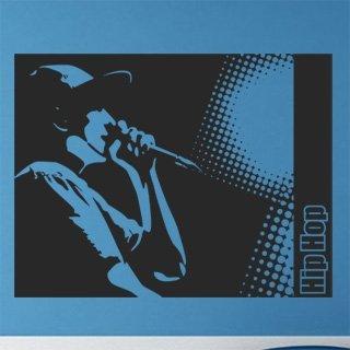 Samolepka na stěnu Hip Hop 001 - 155x120 cm