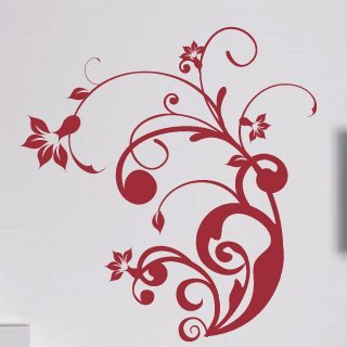 Nálepka na zeď Rostlina 004 - 114x120 cm