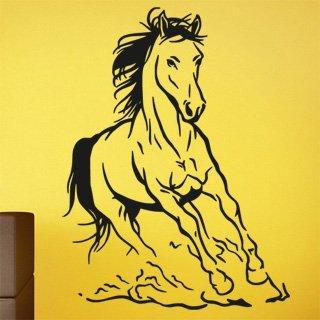 Samolepka na stěnu Kůň 027 - 120x160 cm
