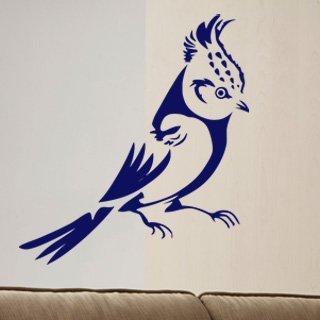 Samolepka na zeď Pták 011 - 60x65 cm