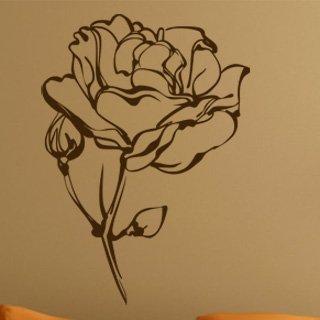 Samolepka na zeď Růže 013 - 60x84 cm