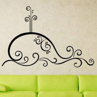 Samolepící dekorace Velryba 0312 - 151x100 cm