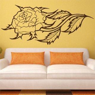 Nálepka na zeď Růže 003 - 192x120 cm