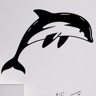 Samolepka na stěnu Delfín 0196 - 170x120 cm