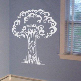 Samolepící dekorace Strom 011 - 120x161 cm