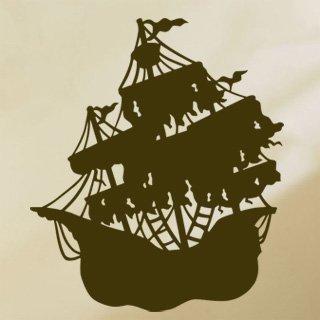 Samolepící dekorace Loď 002 - 100x116 cm
