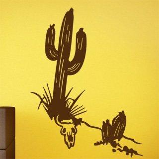 Samolepka na zeď Kaktus 001 - 60x80 cm