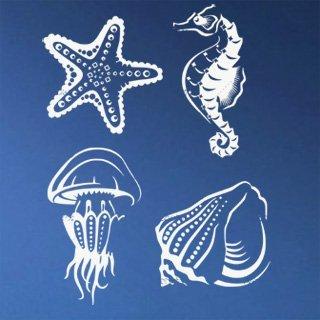 Samolepka Mořský život 001 - 91x120 cm