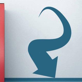 Samolepka na stěnu Šipka 036 - 120x197 cm