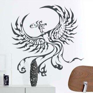 Samolepící dekorace Fénix 005 - 123x120 cm
