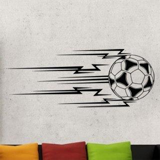 Samolepka na stěnu Fotbalový míč 011 - 307x120 cm