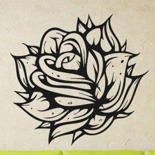 Samolepka Růže 005 - 83x80 cm