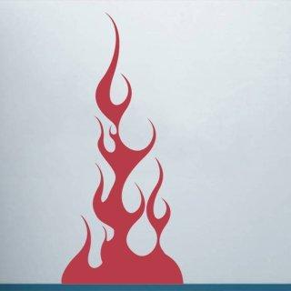 Samolepící dekorace Plameny 011 - 80x179 cm