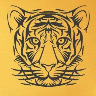 Nálepka na zeď Tygr 013 - 120x120 cm