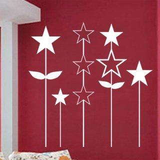 Samolepka na zeď Hvězdy 001 - 60x61 cm