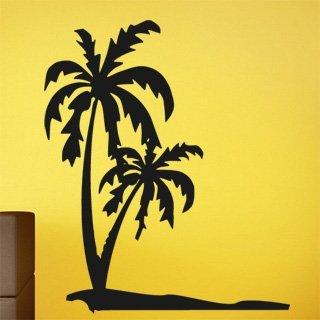 Samolepka na zeď Palmy 0304 - 60x72 cm