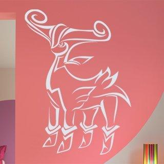 Nálepka na zeď Beran 002 - 100x138 cm