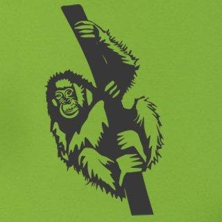 Samolepka na zeď Opice 001 - 60x107 cm