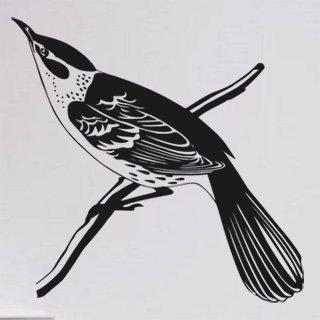 Samolepící dekorace Pták 016 - 124x120 cm