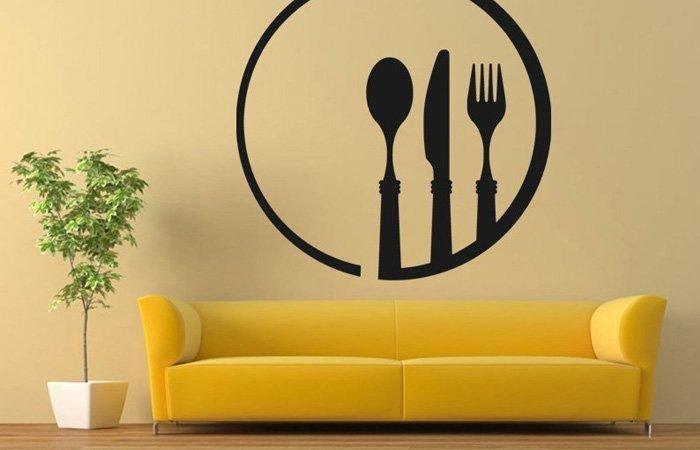 Jak vybrat samolepicí dekorace do kuchyně?