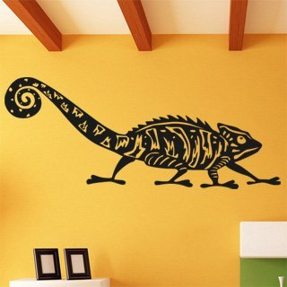 Nálepka na zeď Chameleon 003 - 214x120 cm