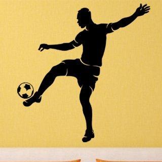 Samolepka na zeď Fotbalista 0576 - 60x63 cm