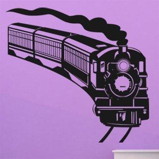 Nálepka na zeď Vlak 006 - 129x120 cm