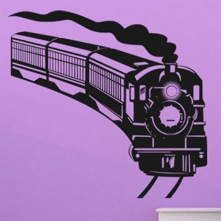Samolepka na zeď Vlak 006 - 86x80 cm