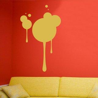 Samolepící dekorace Kruhy 004 - 80x132 cm