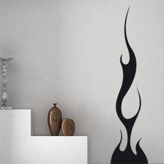 Samolepka na zeď Plameny 005 - 60x258 cm