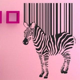 Samolepící dekorace Zebra 016 - 85x120 cm