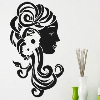 Samolepka na stěnu Žena 008 - 120x213 cm