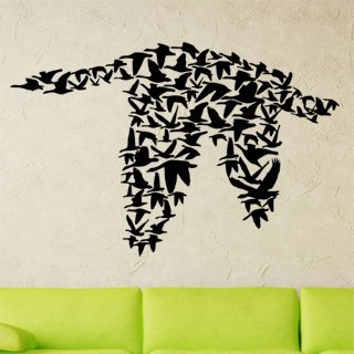 Samolepka Ptáci 002 - 154x100 cm