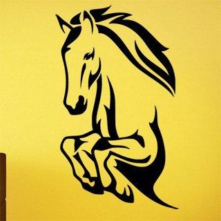Nálepka na zeď Kůň 0389 - 105x120 cm