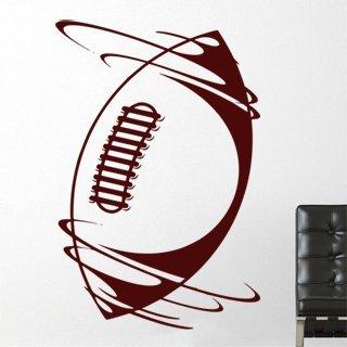 Nálepka na zeď Americký fotbal 006 - 120x183 cm