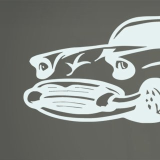 Samolepka na stěnu Auto 014 - 293x120 cm