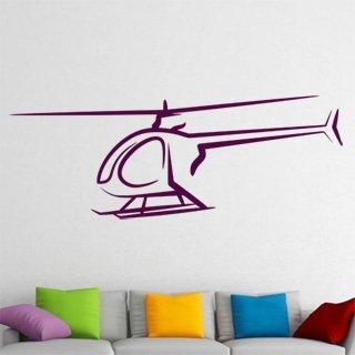 Samolepící dekorace Helikoptéra 002 - 219x80 cm