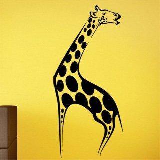 Samolepka na zeď Žirafa 003 - 55x120 cm
