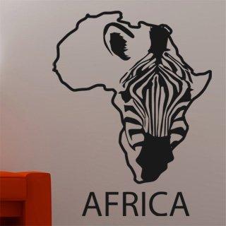 Samolepka na zeď Zebra 009 - 60x78 cm