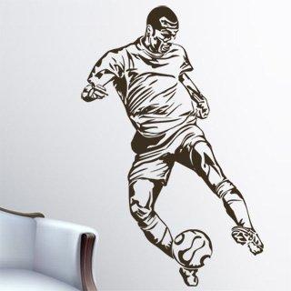 Samolepka na zeď Fotbalista 009 - 60x93 cm