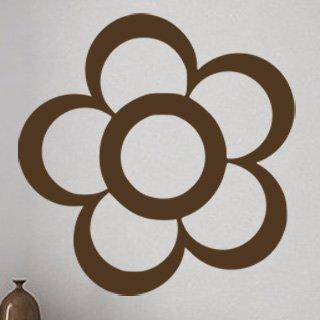 Nálepka na zeď Květ 001 - 120x123 cm
