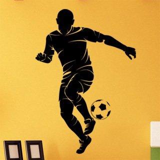 Samolepka na zeď Fotbalista 0581 - 60x87 cm