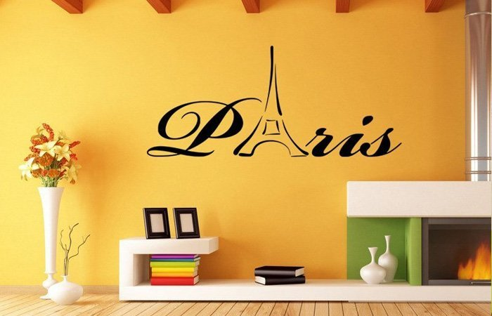 Paříž u vás doma? Se samolepkou to půjde hned!