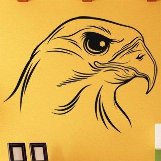 Nálepka na zeď Pták 003 - 132x100 cm