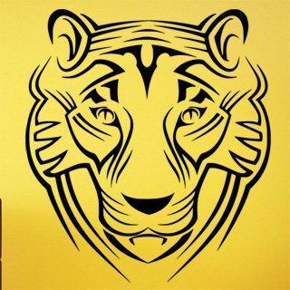 Samolepící dekorace Tygr 009 - 100x112 cm