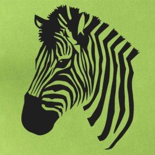 Samolepka na zeď Zebra 014 - 60x74 cm