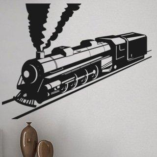 Samolepka na zeď Vlak 007 - 78x60 cm